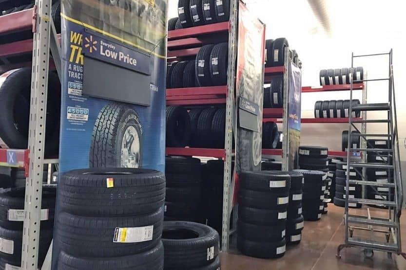 walmart tire installation service cost