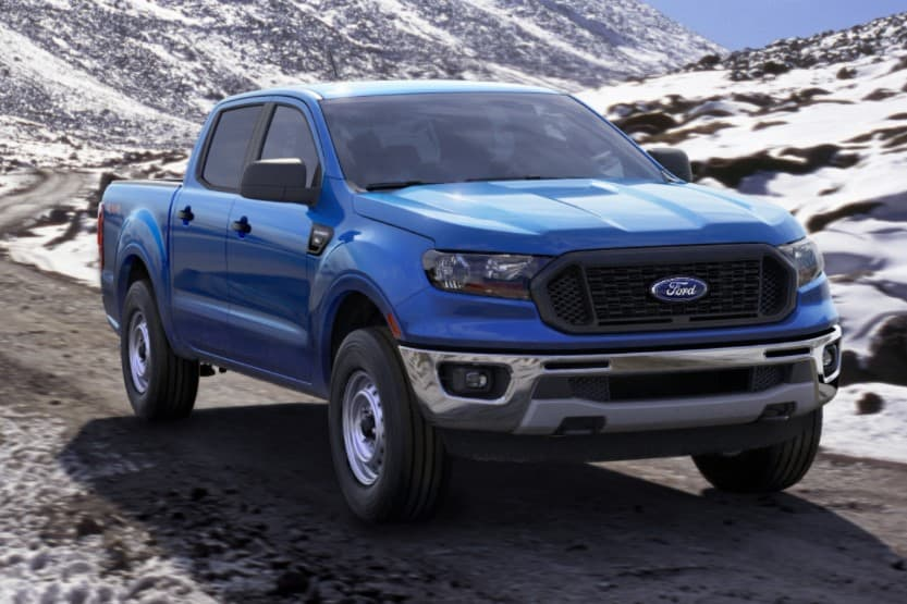 How Much Does a Ford Ranger Weigh? [Ford Ranger Weight Specs]